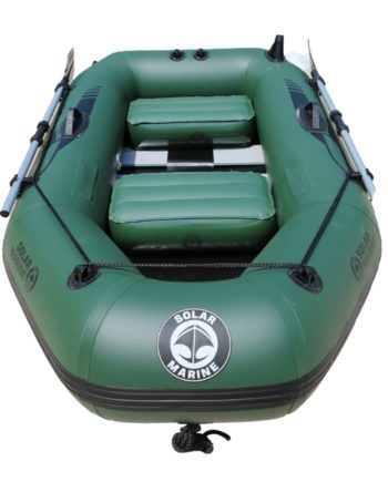 zielony ponton Solar Marine