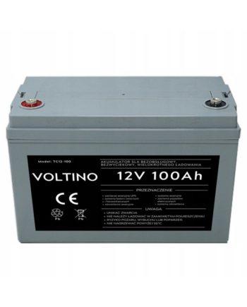Akumulator żelowy bezobsługowy AGM UPS 12V 100Ah