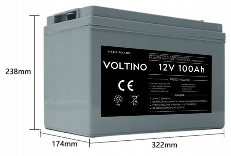 akumulator Voltino