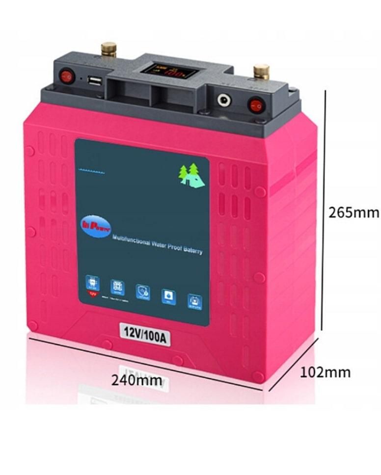 Akumulator litowo-polimerowy 12 V